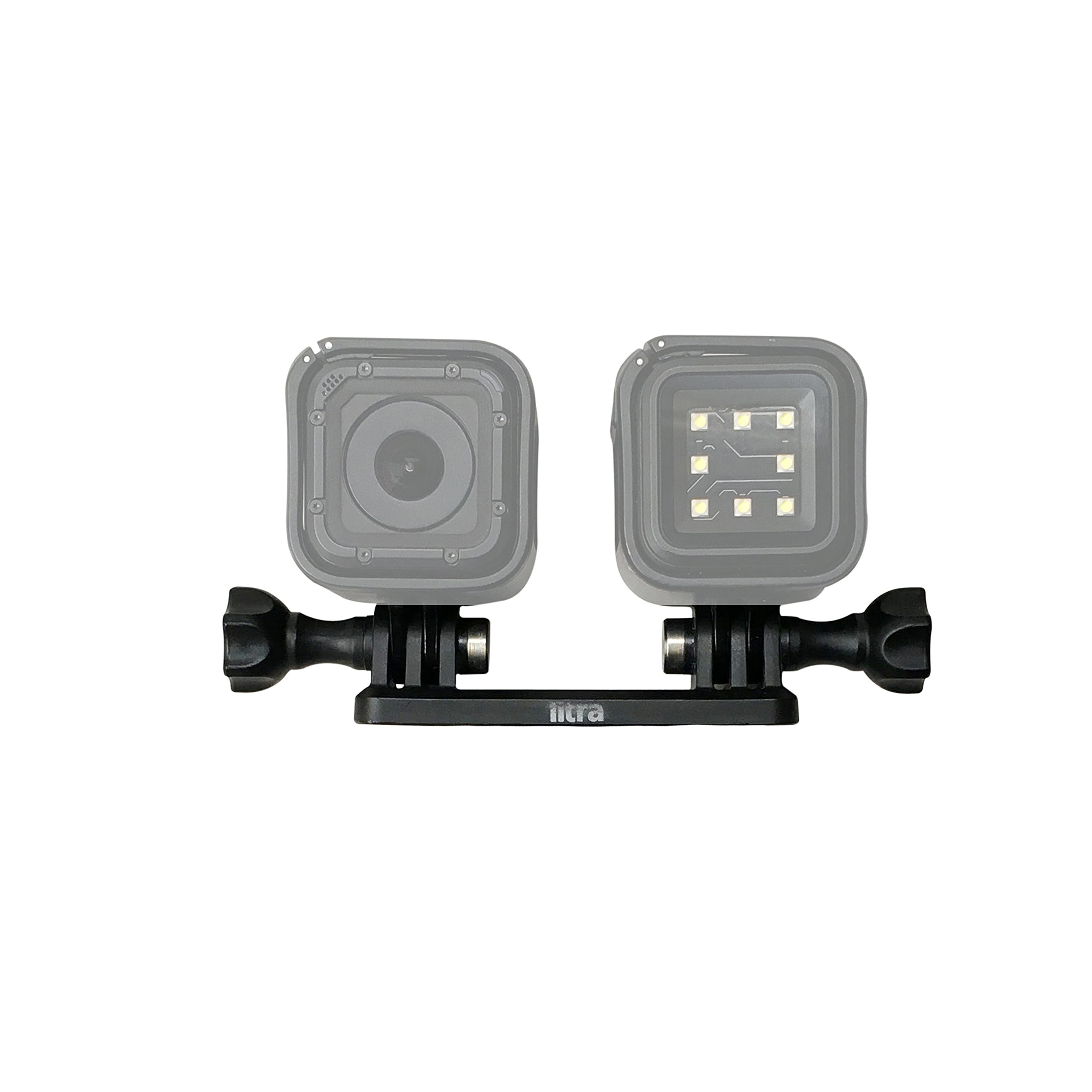 Litra Double Mount - Compatible with LitraTorch, LitraPro and GoPro by Litra