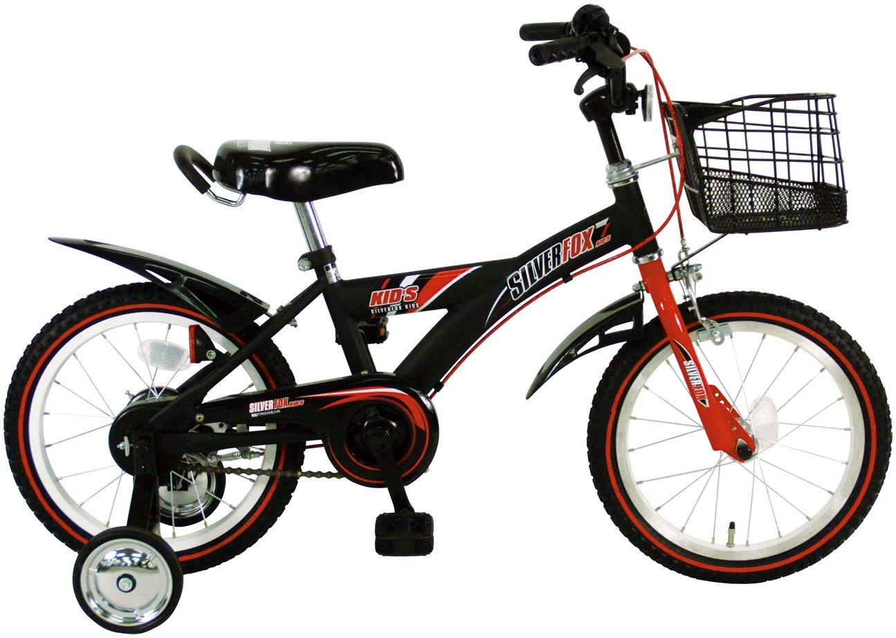 C.Dream(シードリーム) シルバーフォックスキッズ SF61 16インチ 幼児自転車 ブラック 100%組立済み発送   B0719X2JKB