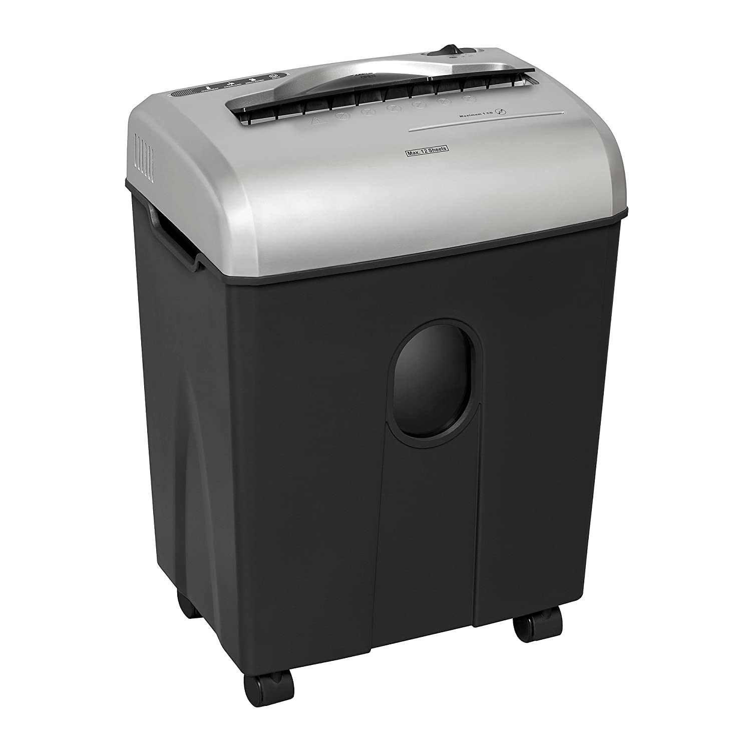 AuroraAU1215XB 31215 12-Sheet Medium-Duty Cross-Cut Shredder