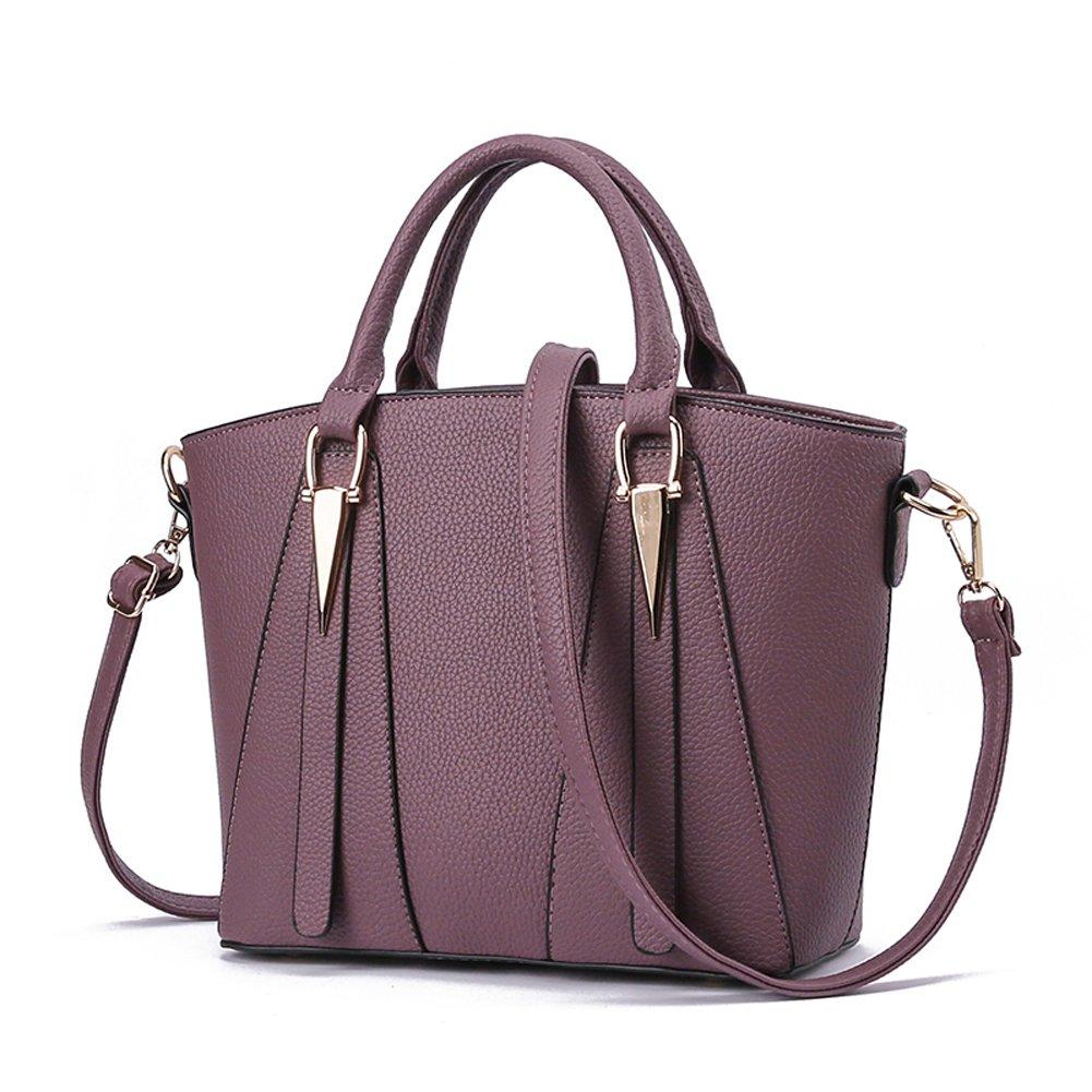 Darkpurple Woman's bag new bag sweet fashion handbag elegant classic handbag Messenger bag shoulder bag handbag