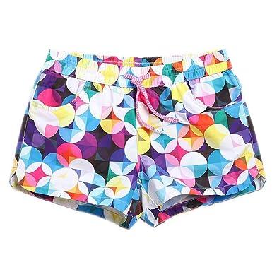 2e22d3be61 Chic-Dona Women Board Shorts Swimwear Sexy Dot Ladies Swimsuits Holiday Swimming  Trunks Beach Surf