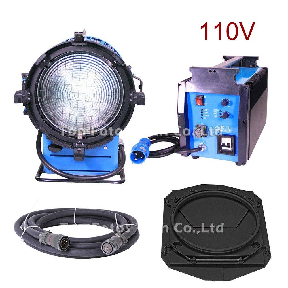 HMI Fresnel Tungsten Light 4000W for Photographic Equipment Moive Film Studio Video Lighting