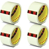 Scotch Packing Tape White- Pack of 4