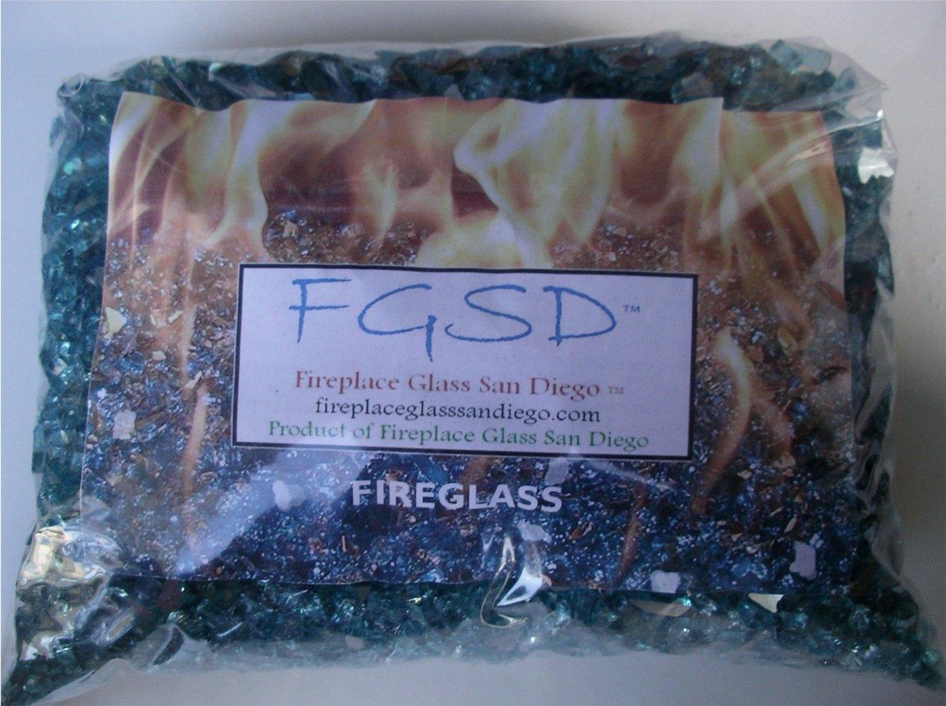 amazon com fire pit fireplace glass 1 4