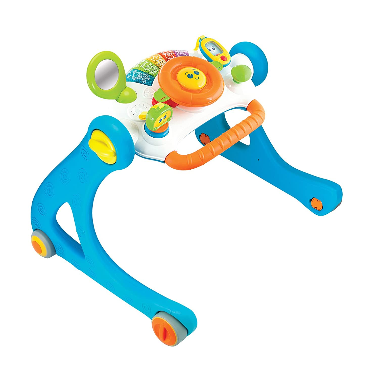 Amazon.com : WinFun 5 In 1 Driver Play Gym Walker, Multi ...