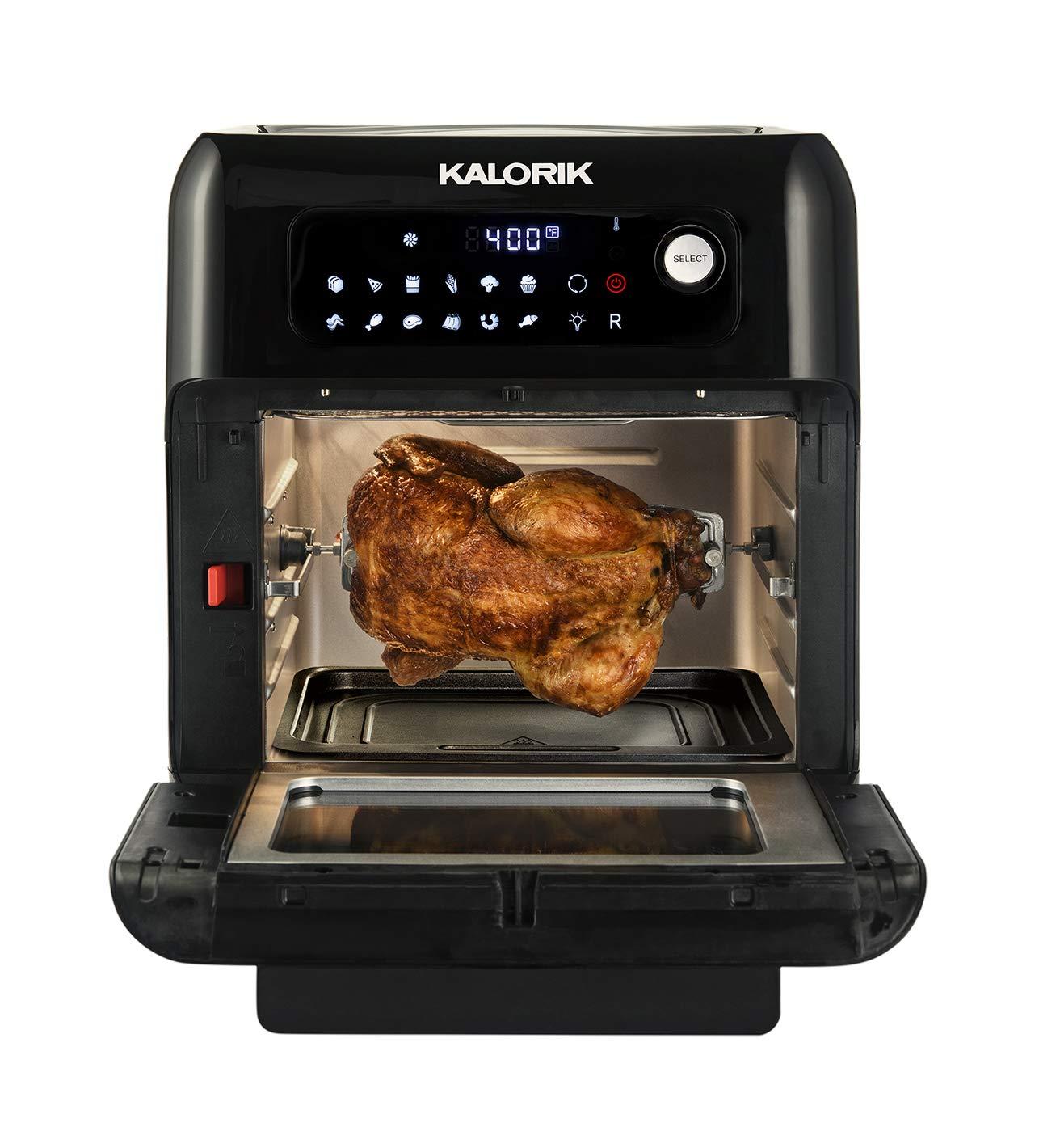 Kalorik 572 Convection Air Fryer Oven 17.5 x 16 x 15 inches black