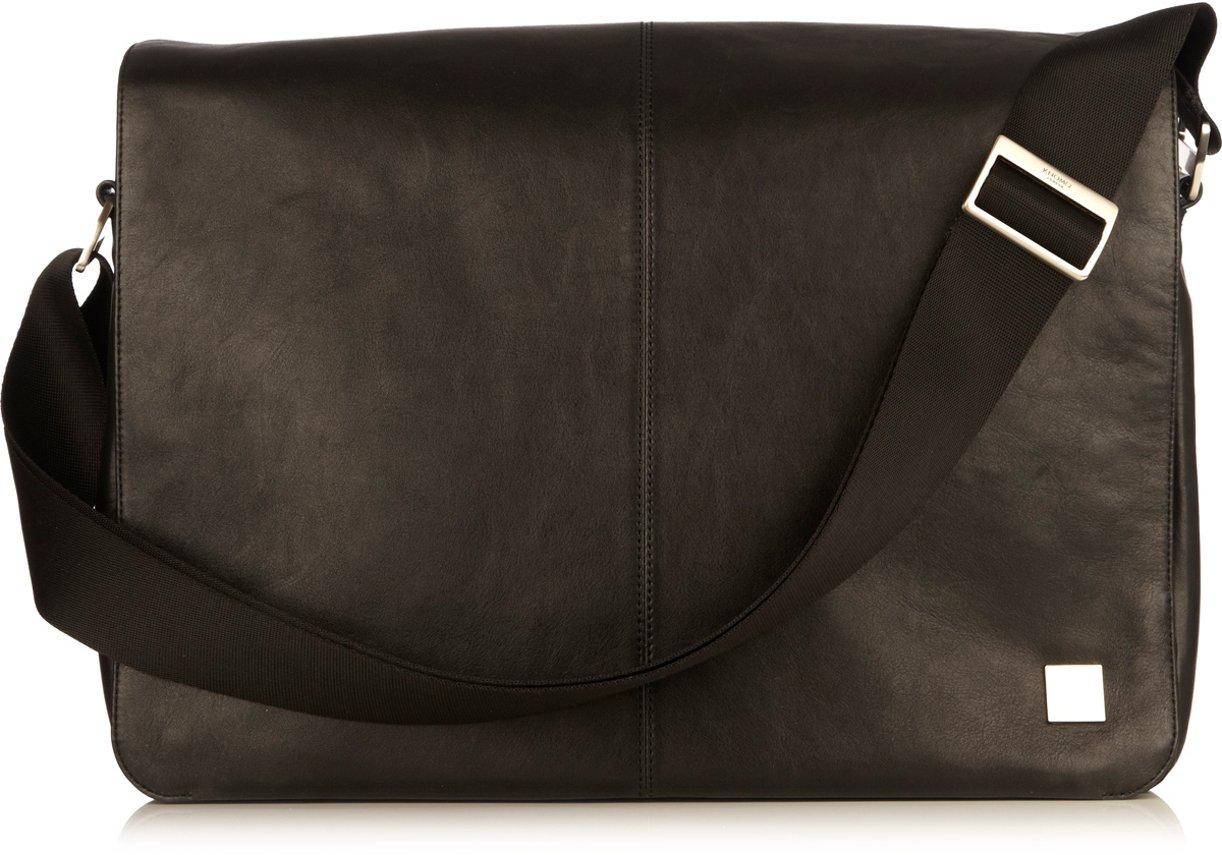 Knomo Luggage Knomo Brompton Bungo Messenger Bag, Black, One Size