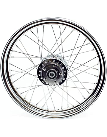amazon motorcycle wheels automotive 1966 Honda 50Cc chrome front 40 spoke wheel 19 x 2 5 fits harley fx sportster