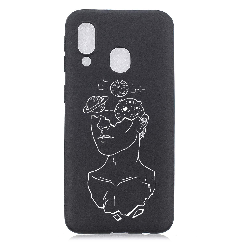 Morbida Silicone per Huawei P Smart Z //Y9 Prime 2019,Trasparente Chiaro Cristallo Slim Flessibile Elegante Creativo 3D Flower Cartoon Sottile in Soft Gomma TPU Colore Premium Custodia