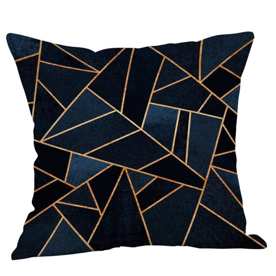 Fxbar Multicolor Geometric Graphics Throw Pillow Case Glitter Sequin Sofa Waist Cushion Covers Home Decor Fashion Design E