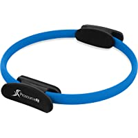 ProSource Fit Pilates Resistance Ring 36cm Dual Grip Handles for Toning and Fitness