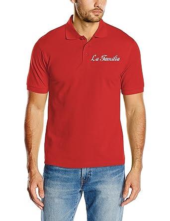 Touchlines Poloshirt La Familia Polo, Rojo, 2XL para Hombre ...