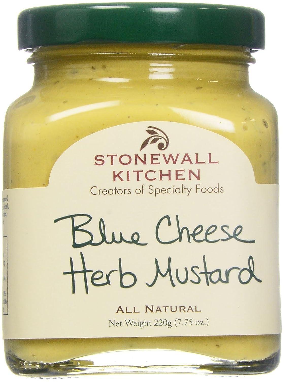Amazon.com : Stonewall Kitchen Mustard - Blue Cheese Herb - 7.75 oz ...