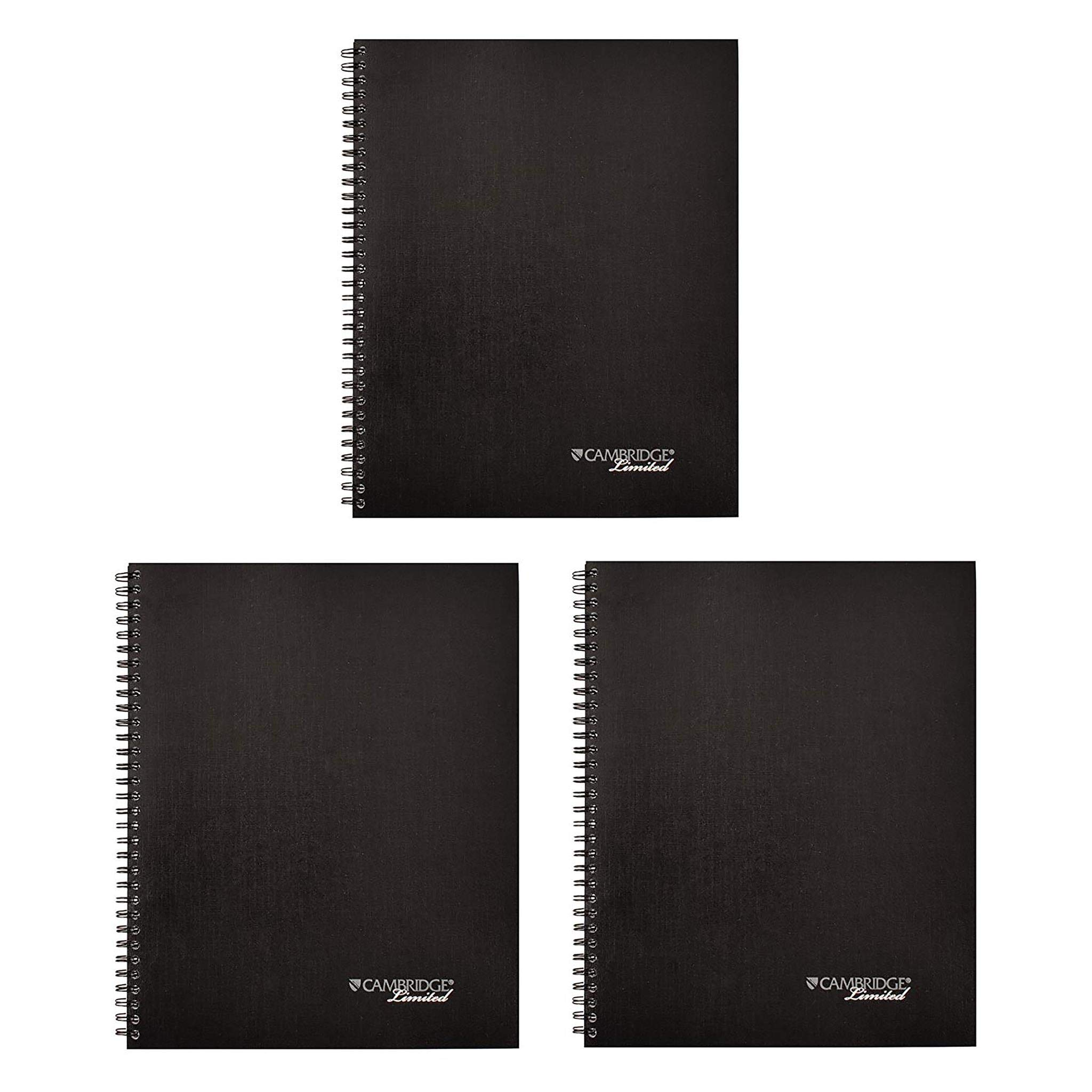 Cambridge Limited Meeting Planner, 11 x 8 1/4, 80 Sheets, Pack of 3 (06132)