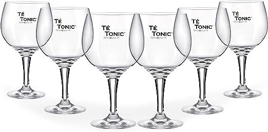 6 copas de cóctel en forma de un balón Copa Gin y Tonic 62 cl ...
