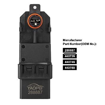 YAOPEI Módulo de motor del regulador de ventana 288887 440726 440788 para MEGANE SCENIC CLIO LAGUNA ESPACE: Amazon.es: Coche y moto