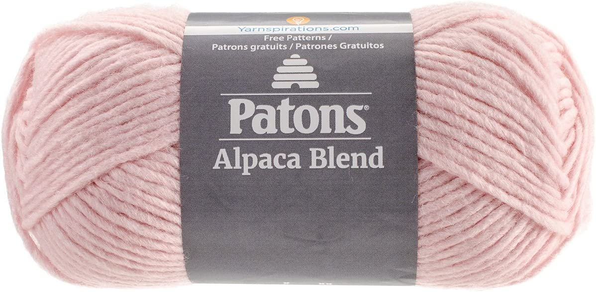 Knitting /& Crafting Patons 24110101021 Alpaca Blend Yarn- Bulky Gauge-3.5oz-Yam-Machine Washable For Crochet 5