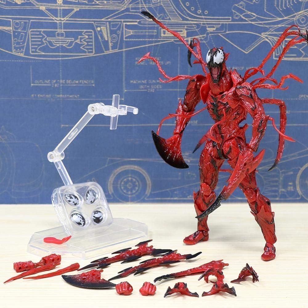Marvel Spider-Man Venom Edward Brock Revoltech PVC Action Figure Model Toys Gift