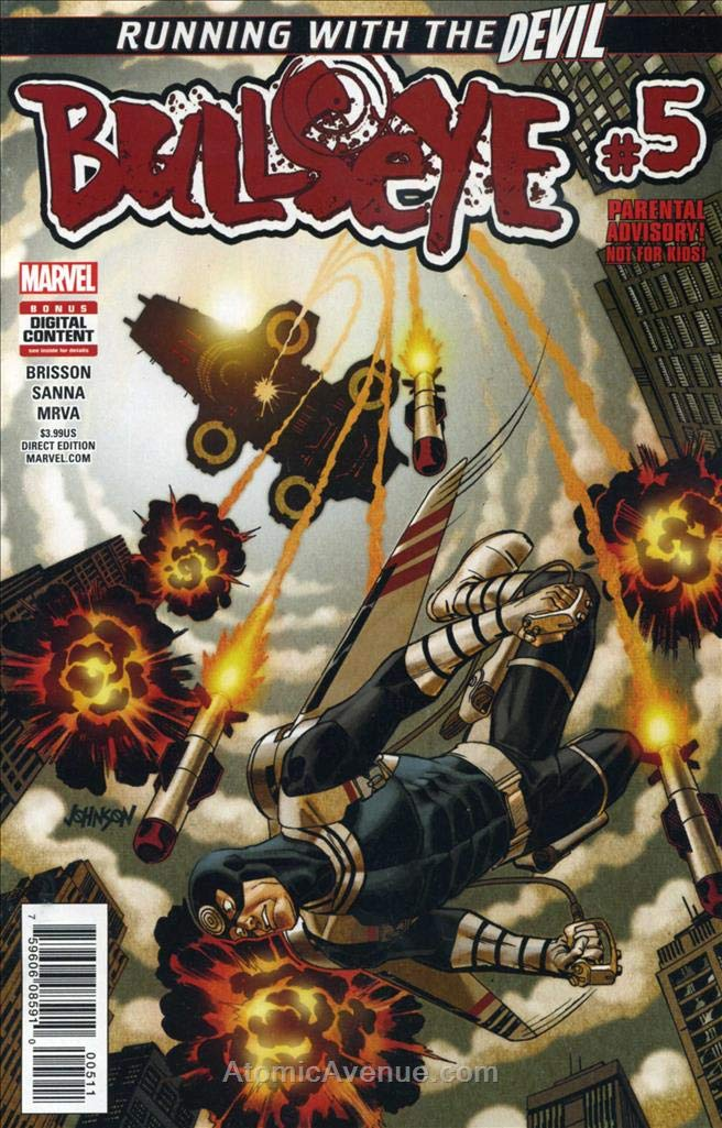 Amazon.com: Bullseye (Marvel) #5 VF/NM ; Marvel comic book ...