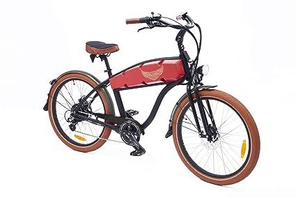 cf7a5fece3c Amazon.com : Ariel Rider 750W Electric Cruiser Bike Ebike : Sports ...