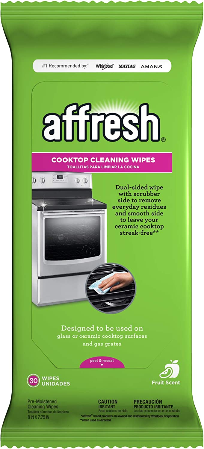 affresh W10539770M2 Cleaning 2 Pack Cooktop Cleaner Wipes