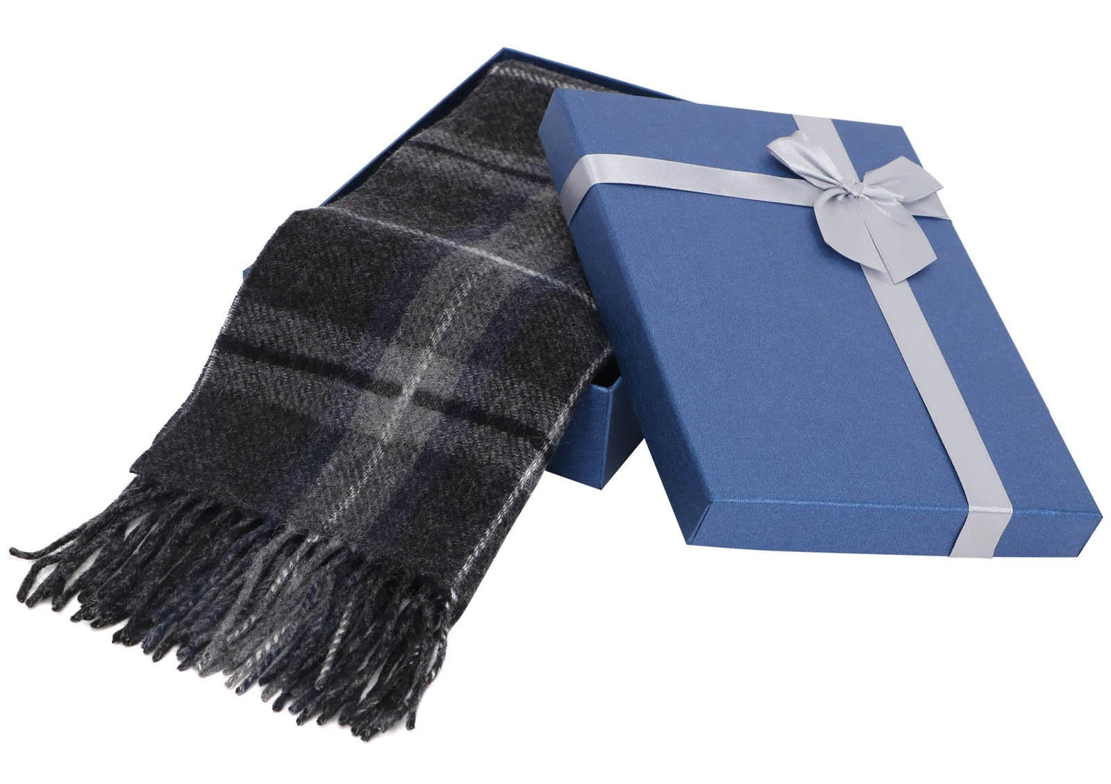 Luxurious Women's Cashmere Scarf Winter Shawls w/ Gift Box, 64.5'' x 11.8'' by Livingston (Image #2)