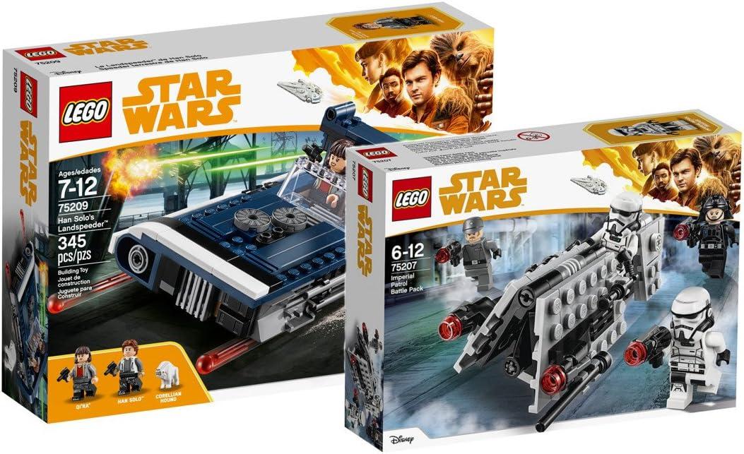 Star Wars Lego Han Solo s landspeeder 75209 juguete + Lego ...