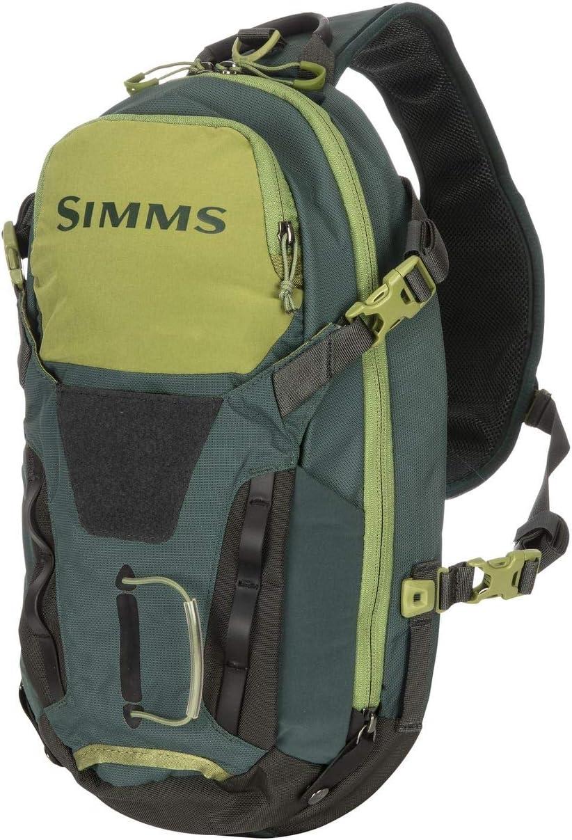 Simms Freestone - Mochila táctica ambidiestra para pesca, bolsa resistente al agua