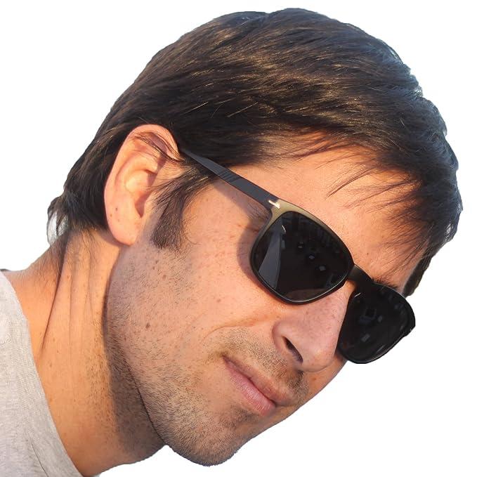 Gafas de Sol Unisex Hombre Mujer Modelo Wayfarer Protección ...