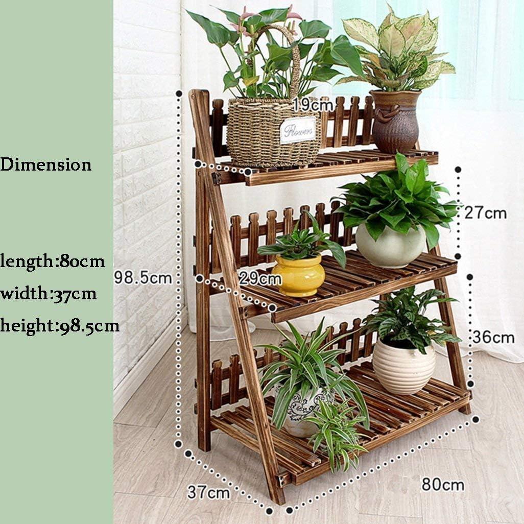 Puesto De Flores,escalera de 3 niveles Estantes para flores ...