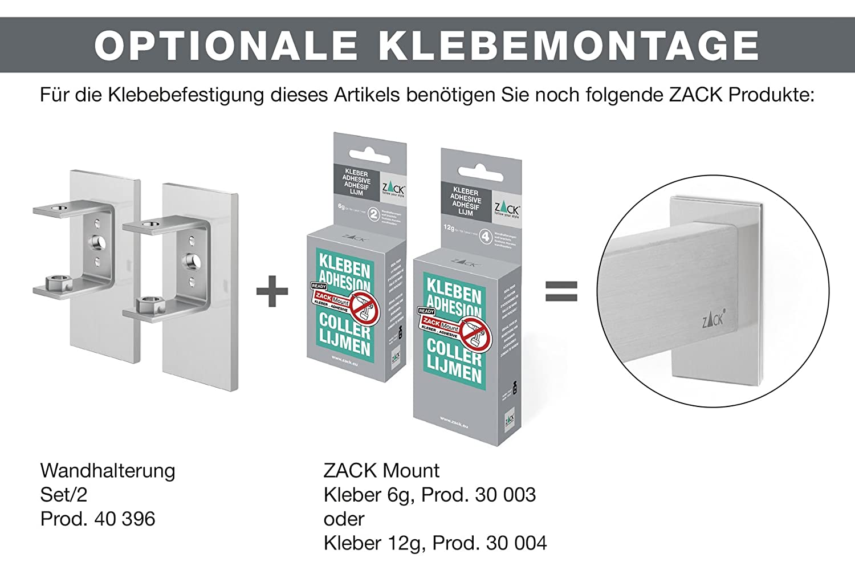 Edelstahl matt ZACK 40384 LINEA Badablage
