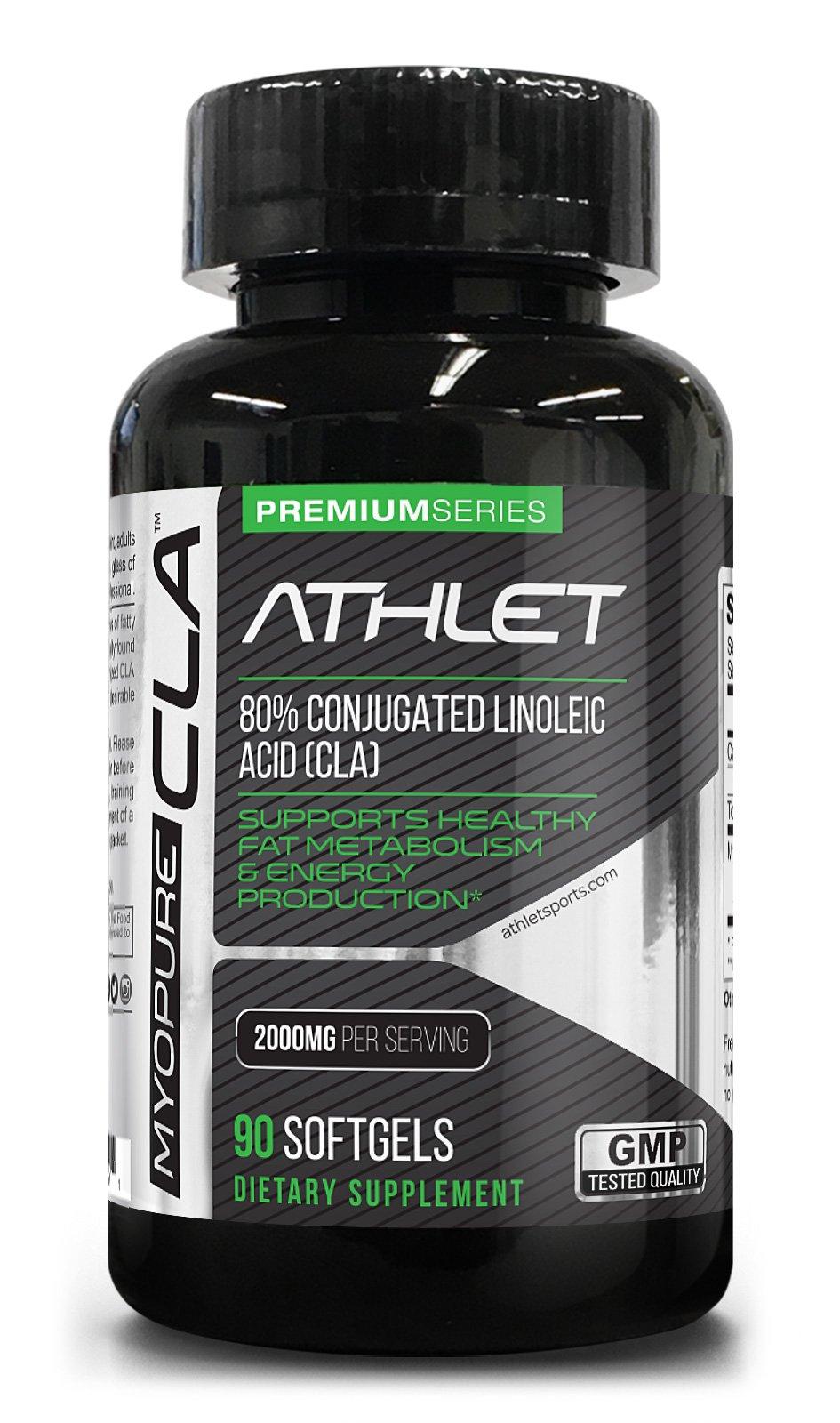 Myo-Pure CLA 2000 mg 90 Softgels   Weight Loss   Fat Burner   Lean Muscle   Energy   Endurance   Recovery   Conjugated Linoleic Acid