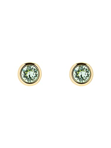 e11c5160a Ted Baker Sinaa Crystal Gold and Mint Stud Earrings: Amazon.co.uk: Jewellery