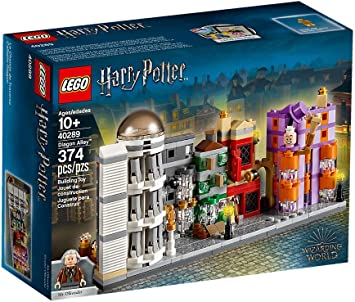 Lego 40289 Harry Potter Winkelgasse Diagon Alley Amazon De Spielzeug