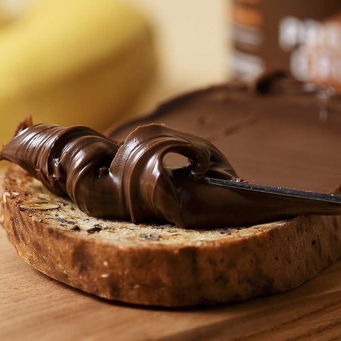 foodspring - Crema Proteica - 6 x 200g - Crema proteica de avellanas para untar
