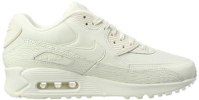 092ef8982b Amazon.com: Nike Womens Air Max 90 PRM LEA Running Trainers 904535 Sneakers  Shoes (US 9.5, sail Light Bone White 100): Sports & Outdoors