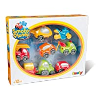 Smoby - 120209 - Vroom Planet - Véhicules Miniatures - Coffret 7 Véhicules Collector