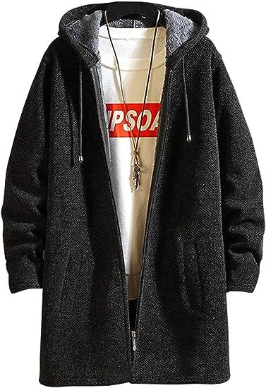 ロング パーカー コート 秋冬 メンズ 裏起毛 アウター フード カジュアル ウインドブレーカー ジャンパー メンズ ジャケット アウトドア 軽量 防風 大きいサイズ