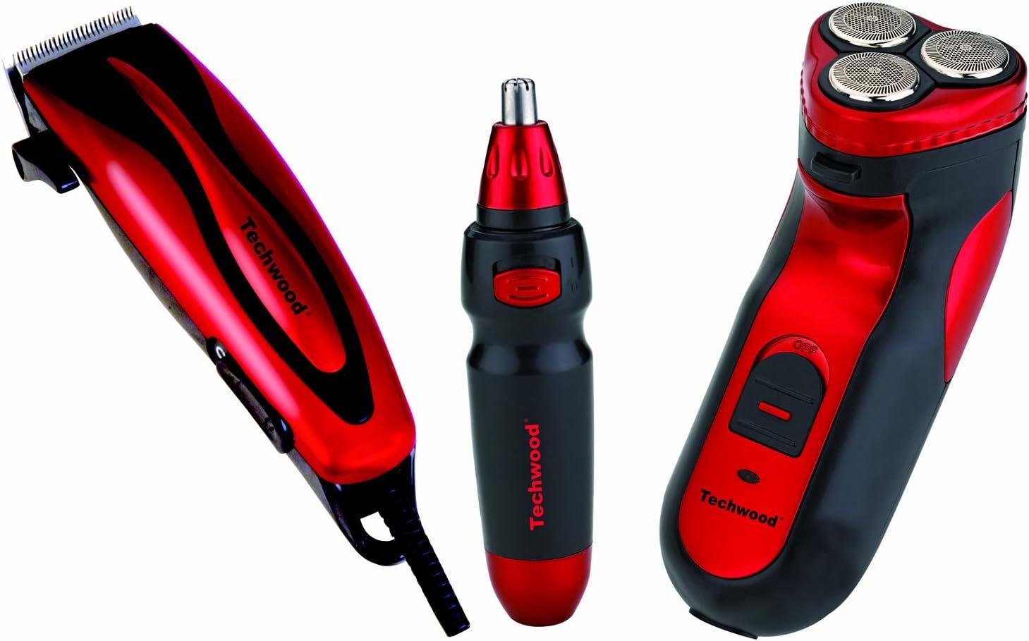 Coffret tondeuse + rasoir + épilateur Techwood TCO2535: Amazon.es ...