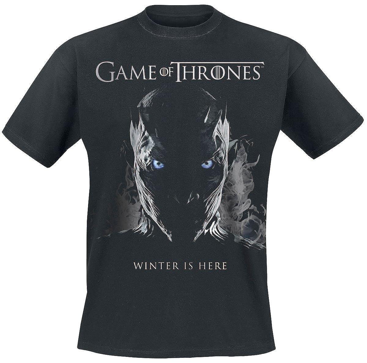 Game of Thrones Nachtk/önig Rising T-Shirt Nero