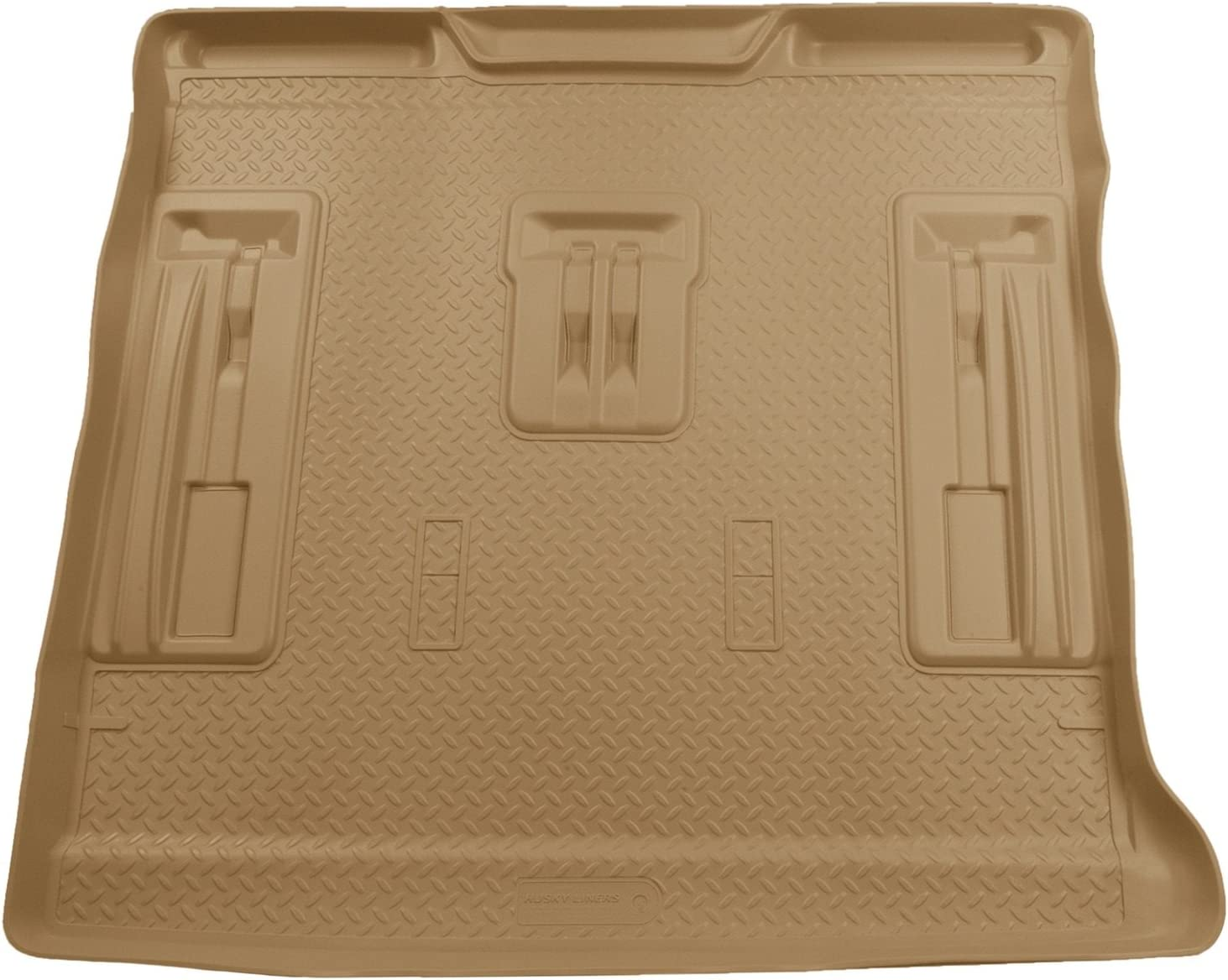 Black Husky Liners Custom Fit Molded Rear Cargo Liner for Select Chevrolet//GMC//Cadillac Models