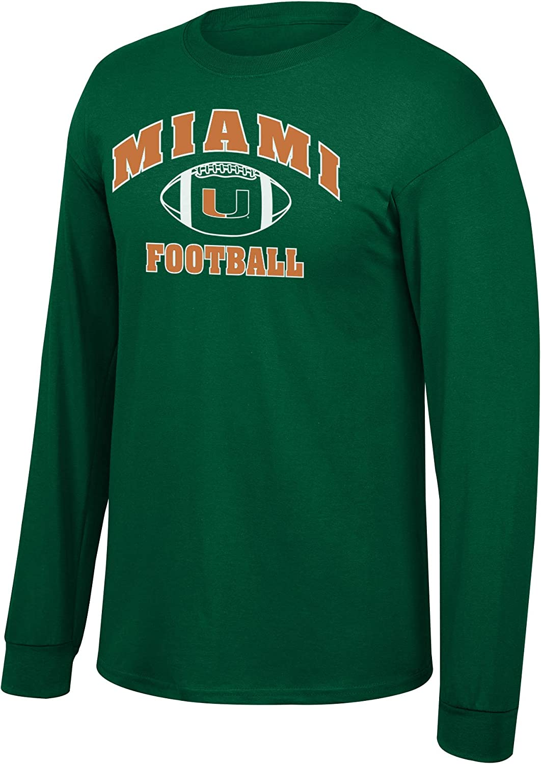Elite Fan Shop NCAA Mens Football Long Sleeve T-Shirt Team Color