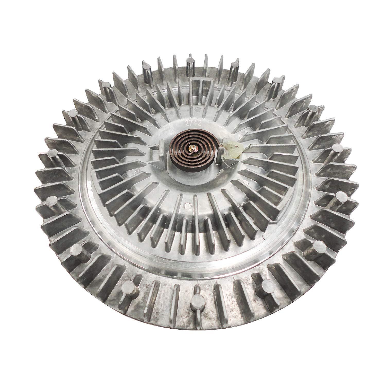 Engine Cooling Fan Clutch Radiator Fan Clutch for 2002 2003 2004 2007 2008 DODGE RAM 1500 2500 3500 SRT-10 Laramie SLT ST Power Wagon SXT Sport TRX4 Replace# 2742