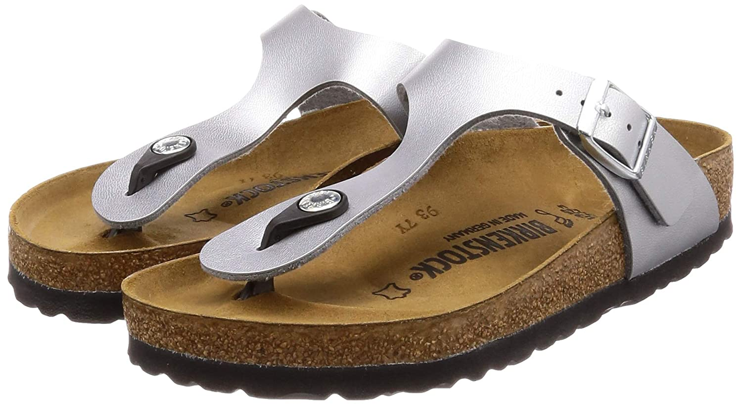1d51e0d31 Amazon.com | Birkenstock Gizeh Unisex Leather Sandals | Flip-Flops