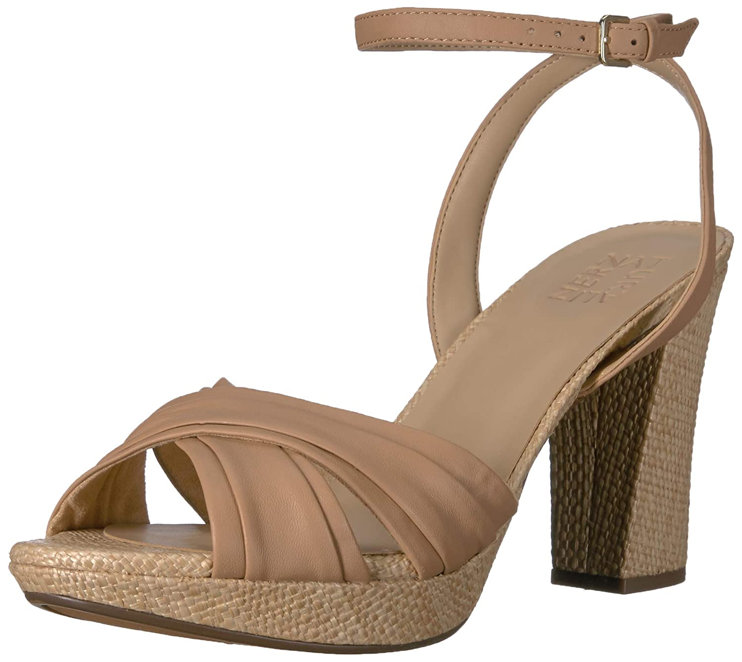 Cookie Dough Naturalizer Womens Avril Heeled Sandal