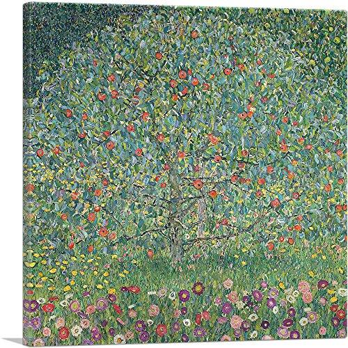 Apples Canvas Art - ARTCANVAS Apple Tree I 1912 Canvas Art Print by Gustav Klimt- 36