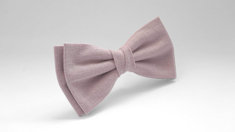 441d359ef028 Amazon.com: Dusty rose bow tie, dusty pink bow tie, wedding linen bow tie, bow  tie for men, groomsmen bow tie, grayed pink bow tie, linen bow tie: Handmade