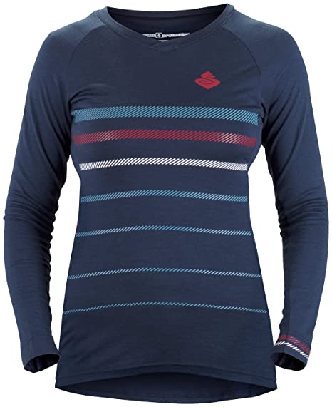 a4bdaff8a Sweet Protection Badlands Merino LS Jersey - Women s Midnight Blue X-Small