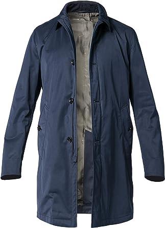 Herren Blau JOOPMantel Gr50 Baumwolle in Coat Trenchcoat rsdthQ