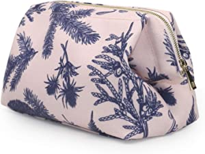 Makeup Bag - Womens Cosmetic Organizer - Recycled Plastic - Eco Friendly - Environmentally Friendly - Travel Case - Jewelry Pouch - Medium – Cute Waterproof Cosmetics Bag – Organize Beauty Products
